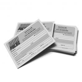 Recibo Papel Sulfite 75g A6 (10,5x14,8cm) 1x0 PB  bloco de 100 folhas Borda sem impressão